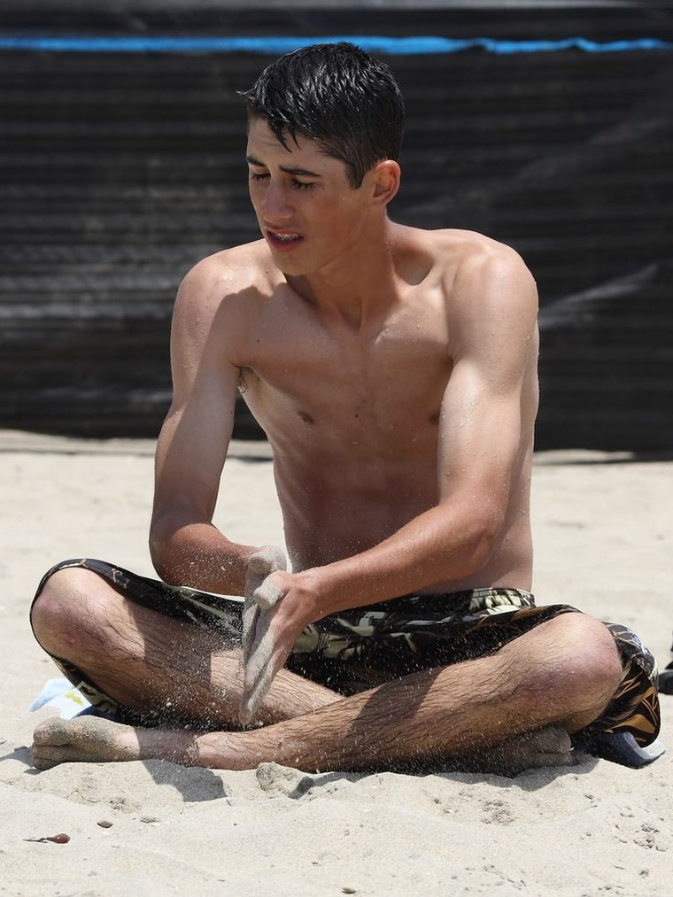 Hot Twink at the Beach